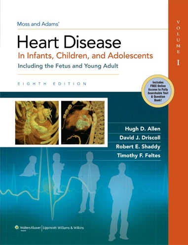 Moss and adams heart disease in infants children and adolescent