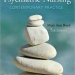 Psychiatric Nursing: Contemporary Practice Edition 5